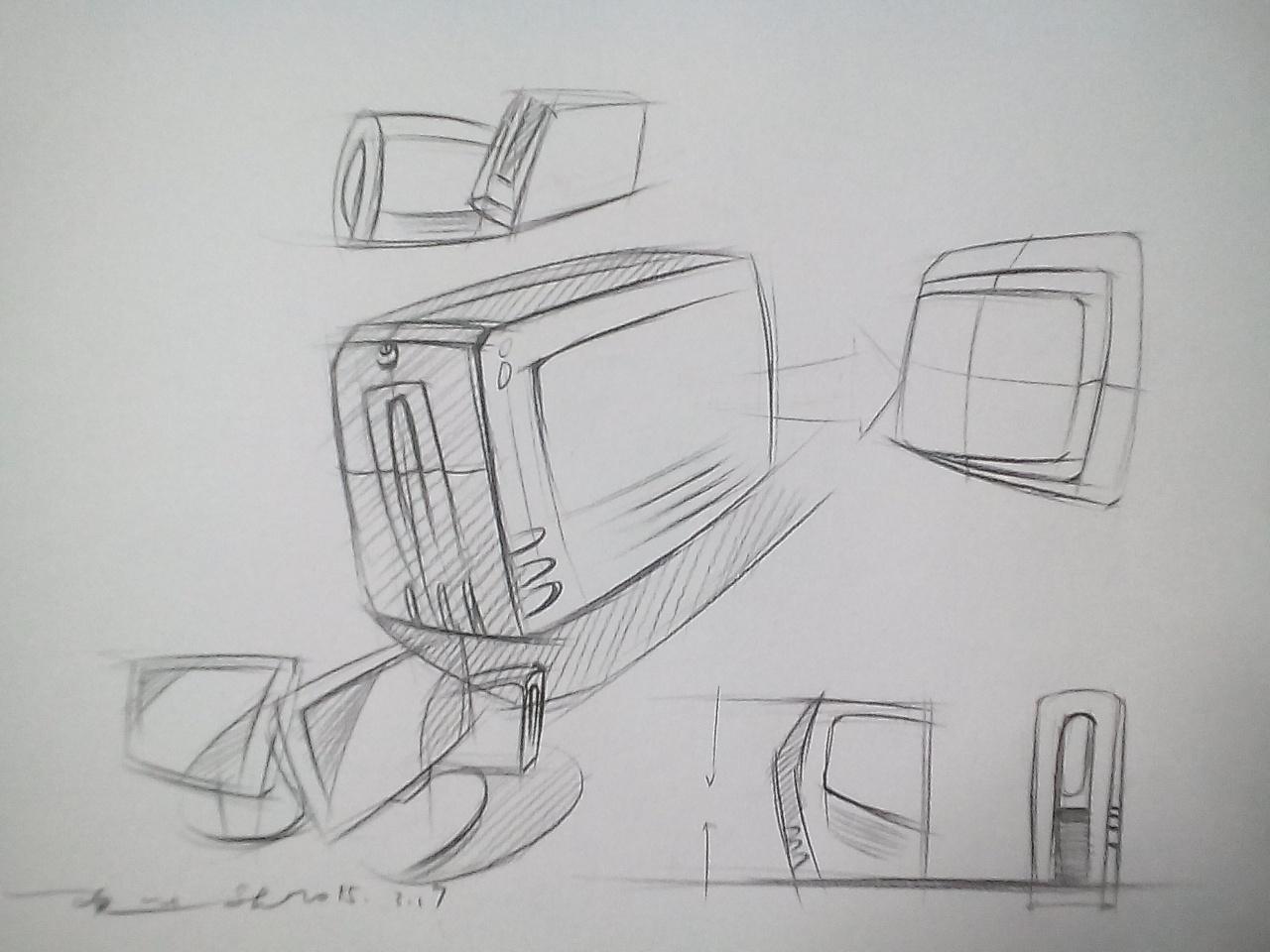 汽车手绘 工业/产品 交通工具 sj18380434309 - 原创
