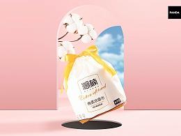 沁楠 ✖ 熊猫视觉 | 洁面巾电商拍摄及电商详情页设计