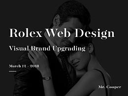 Rolex Web Design