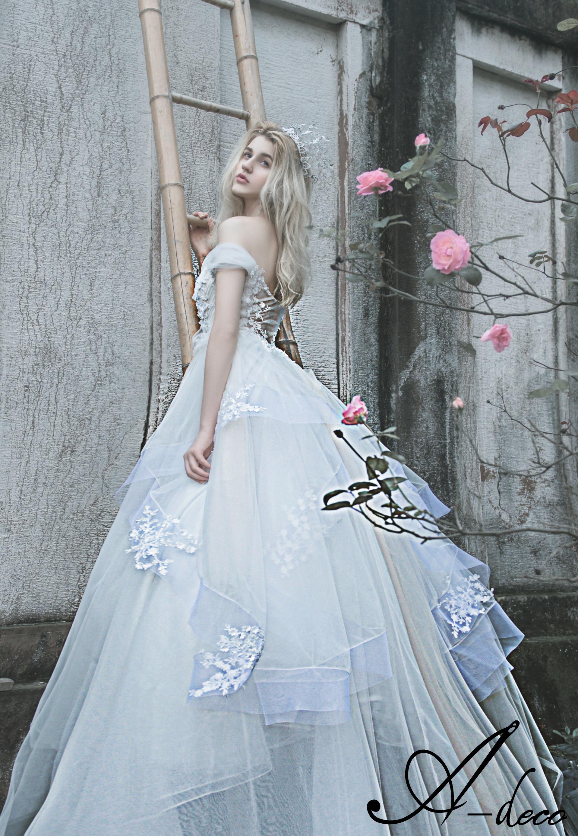 公主婚纱设计师_爱丽丝|服装|正装/礼服|Adeco婚纱礼服 - 原创作品 - 站酷 (ZCOOL)