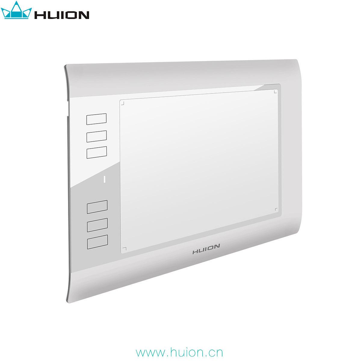 绘王h58l数位板照片 huion手绘板图片 画图板产品设计