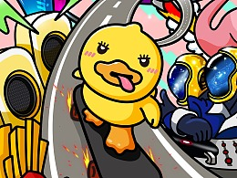 Dong Duck6-7月份作品