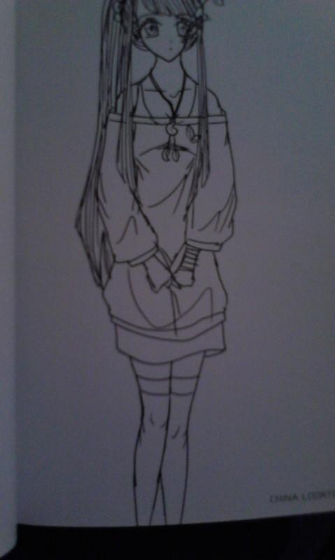 钢笔画——动漫人物篇