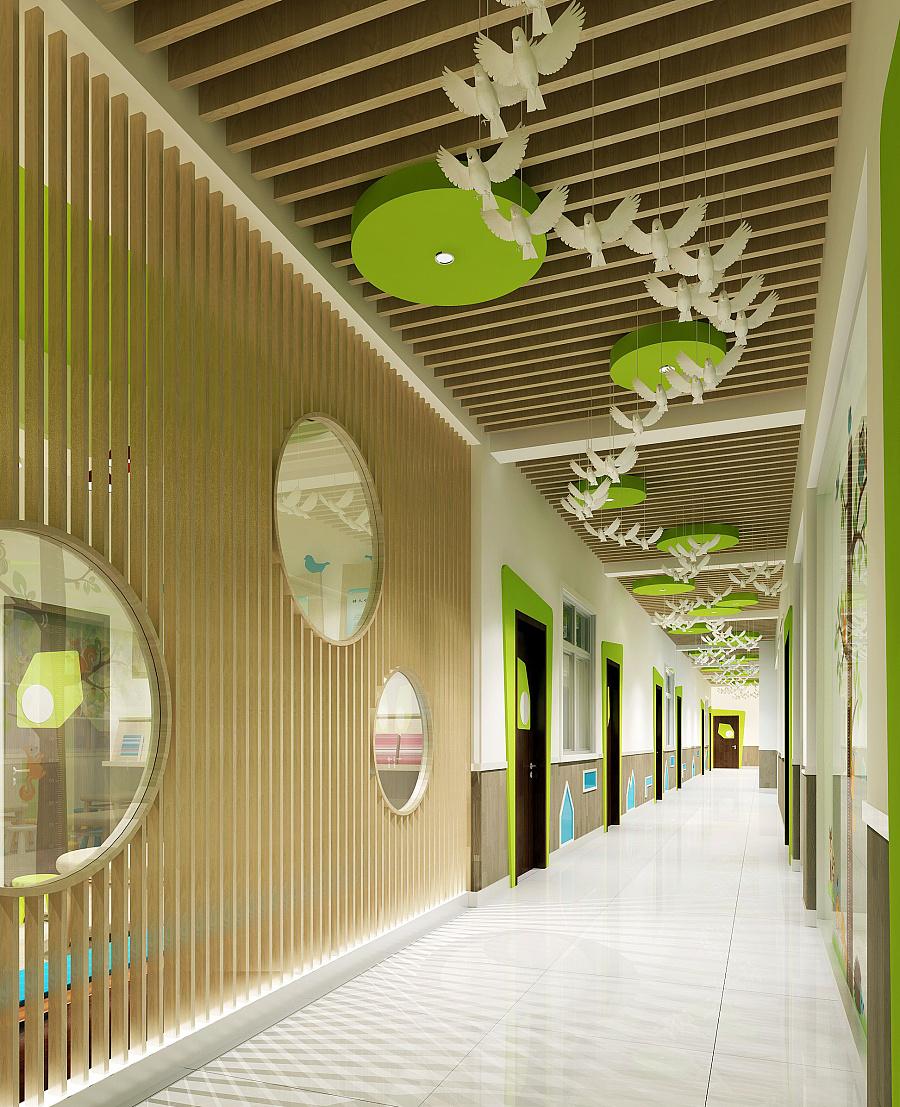 成都幼儿园设计|德阳幼儿园设计|绵阳幼儿园装修设计当代室内设计的选题图片