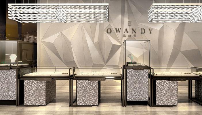 owandy珠宝店-成都珠宝店装修 室内设计 空间 成都店图片