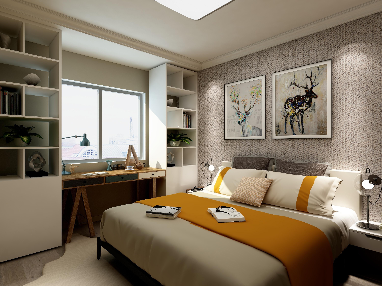 背景墙 房间 家居 起居室 设计 卧室 卧室装修 现代 装修 3000_2250图片