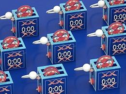 《时光能量盒》百雀羚x坤音四子动画