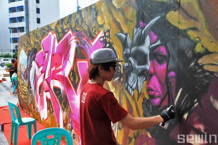 查看《2012亚洲战墙涂鸦比赛中国赛区》原图,原图尺寸:720x479