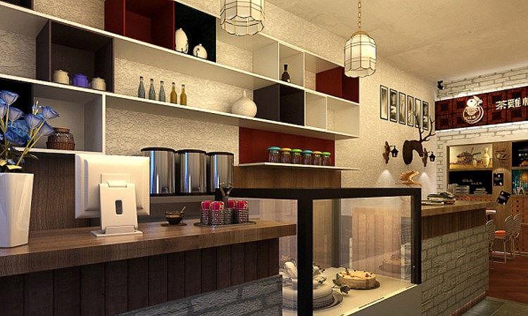 成都大丰梅之家咖啡厅设计装修-德阳大丰咖啡厅建筑|成都布莱咖啡专业鸿业装修设计室图片