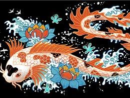 餐饮品牌Kuro x AG旗下艺术家Steve Simpson
