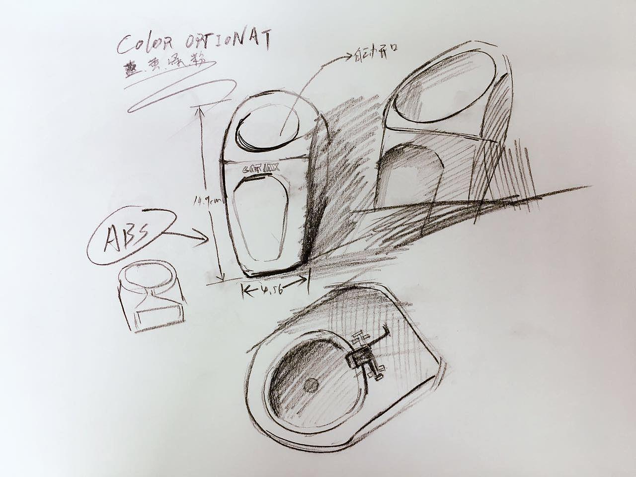 产品设计素描手稿图片