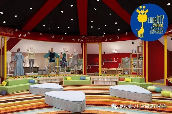 儿童画室logo_郑州美术培训机构装修设计儿童空间装修设计|空间|室内设计 ...