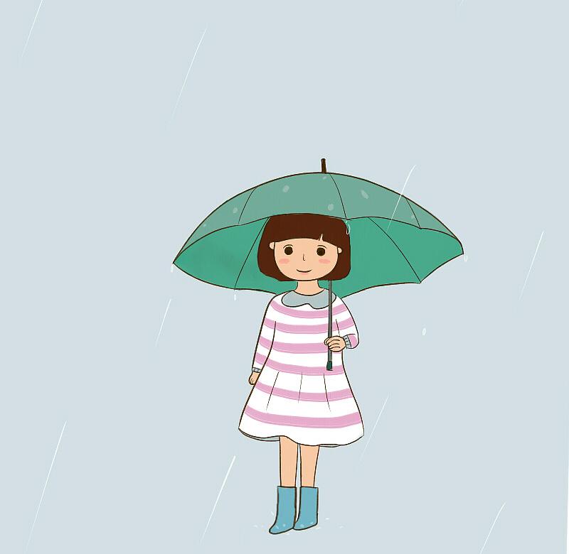 下雨天 图片