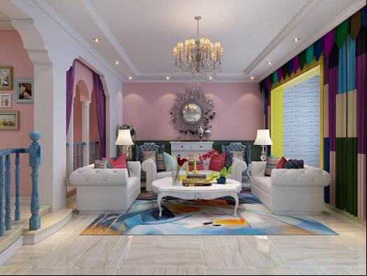 国赫红珊湾装修效果图|室内设计|空间/建筑|乐豪斯师