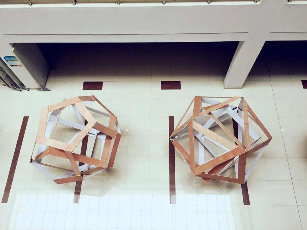 立体构成模型 空间 建筑设计 elves稀土 - 原创作品图片
