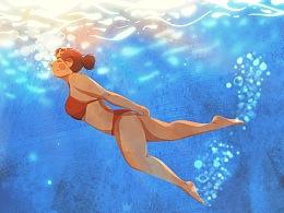 夏日游泳丨Summer Swimming