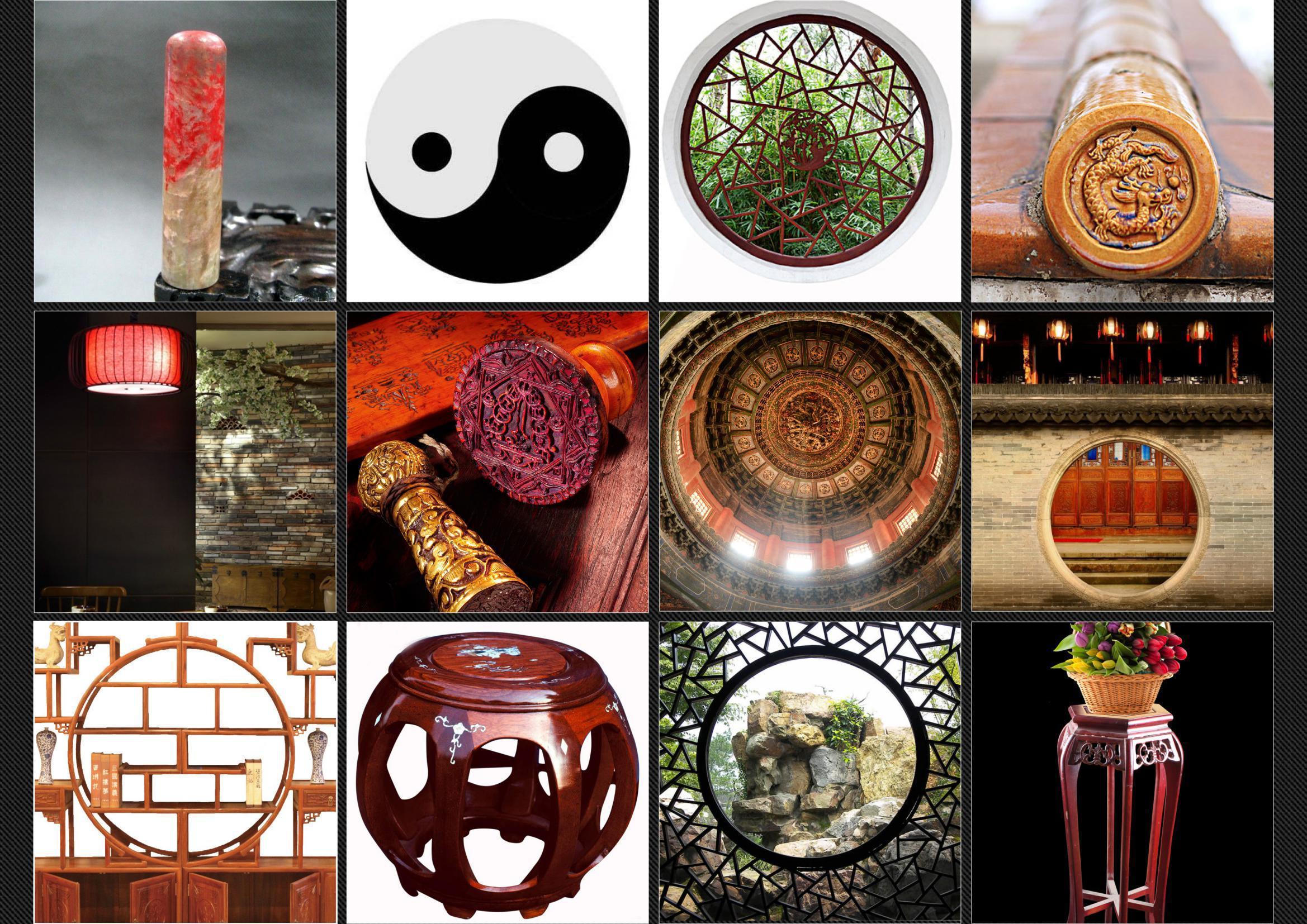 泓文博雅logo设计元素表绘制cad图图片