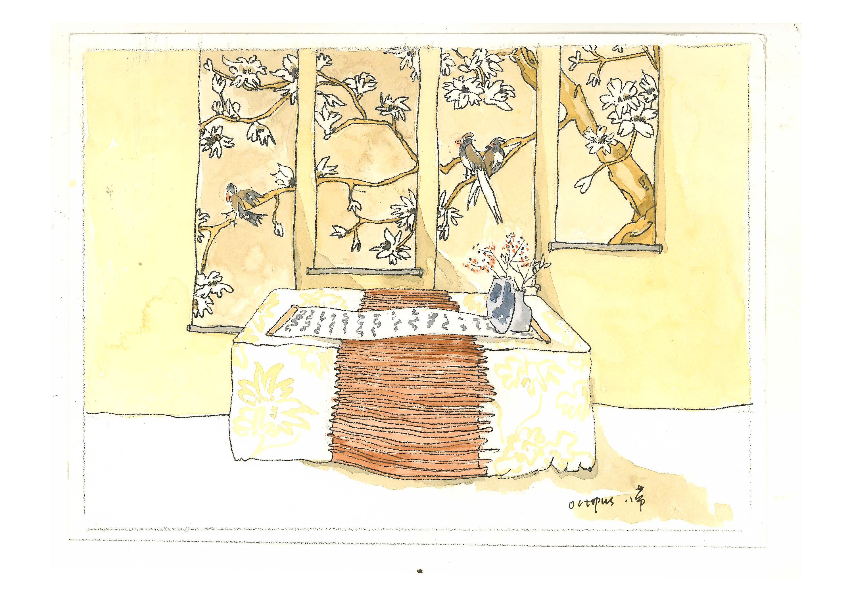 婚礼手绘图|插画|商业插画|八带 - 原创作品 - 站酷