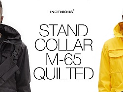 INGENIOUS Detachable Waist Bag M65 Quilted Jacket