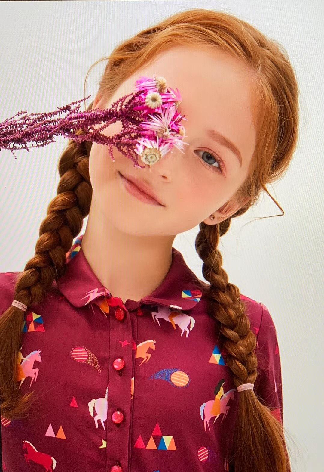 俄罗斯童模图片
