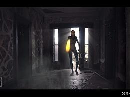 houdini模拟《X战警》变形魔女特效