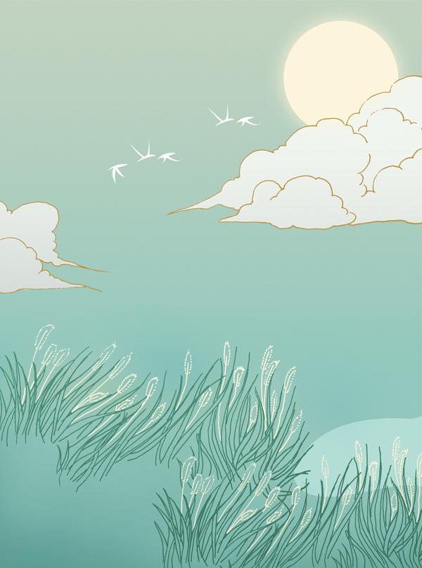 书香满径插图设计 商业插画 插画 tudoutiao图片