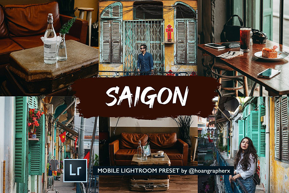 【P256】清晰通透街拍电影色调手机版LR预设DNG格式 SAIGON COLLECTION