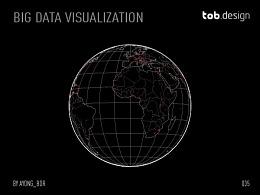 一套数据可视化设计科技感组件