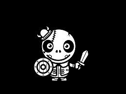 临摹小骷髅