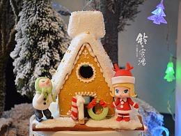 圣诞molly姜饼屋