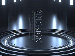 212设计-C4D建模渲染+合成-Good boy 动态创意海报