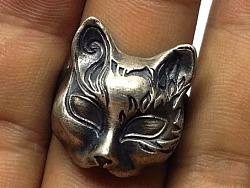 新出炉的两个作品,日本狐狸面具&玛利亚挂坠