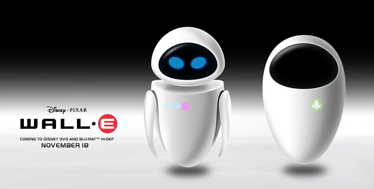 【机器人总动员】Eve/伊娃|UI|图标|杜三鲜-原美女房梁绑图片