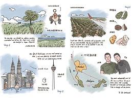 泰国马来西亚手帐+摄影