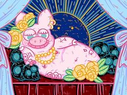 假笑猪猪 - 表情包