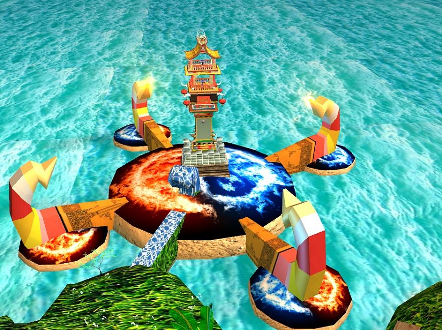 我的maya室外玄幻之东海动漫准备回家的图片搞笑之城|场景|三维|s图片