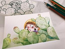 仙人掌:cactus: