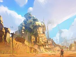《堡垒前线:破坏与创造》前期概念