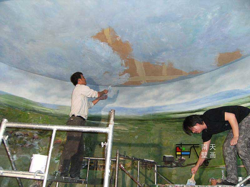 南天壁画出品:内蒙博物馆(蒙古族草原牧羊壁画