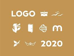 """关于""""书""""的20种创意标志"""
