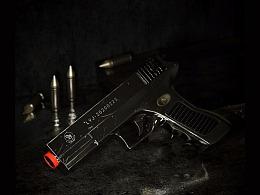 c4d玩具手枪子弹建模渲染