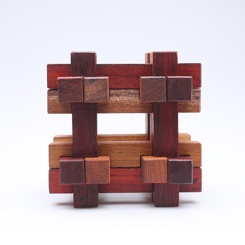 益智玩具—鲁班锁|产品|摄影|静儿521521