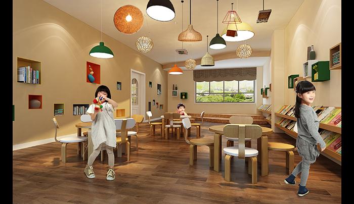南充市文奇国际幼儿园装修设计 vi/ci 平面 青菜好吃