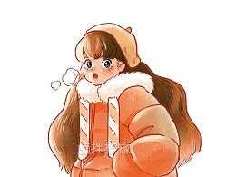 冬天里的小可爱
