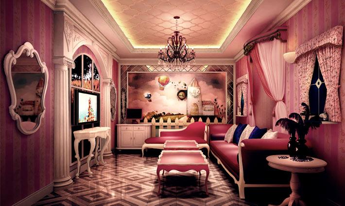成都ktv设计公司_成都KTV设计百丽宫殿KTV室内设计空间建