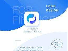 小鱼理财logo设计2.0