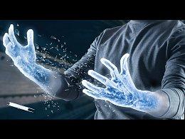 手臂冰冻效果合成