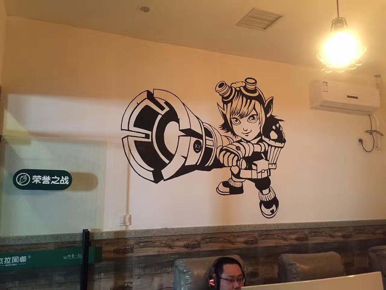 小3d墙绘图片素材