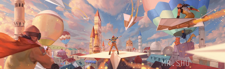 童年的纸飞机现在终于飞回我手里