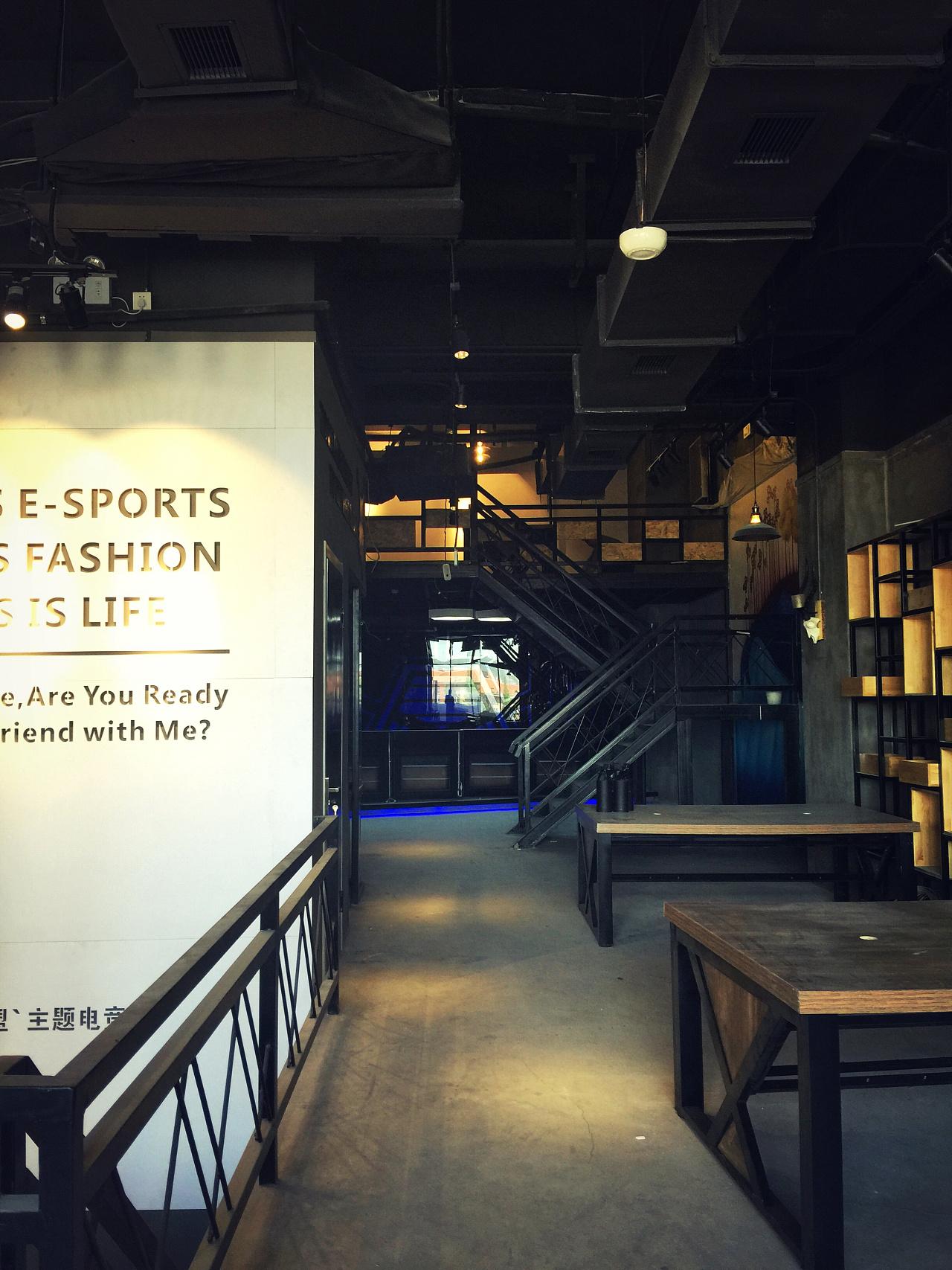 大连网咖v猿人猿人联盟电竞岚帝空间设计刘昌英语美字体设计理念图片